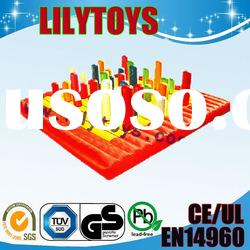 2012 Hot selling inflatable water games park/floating park in Lilytoys