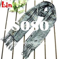 2012 fashion women print long cotton scarf