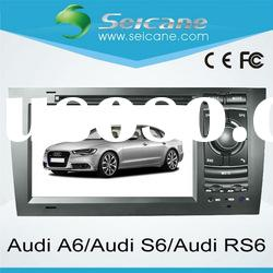 2 din Audi A6 car dvd player gps