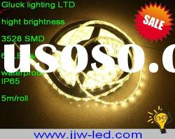 5M 300 hot sale 110/220v warm white high power led strip
