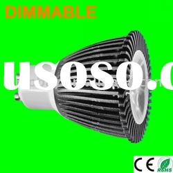 6W GU10 led dimmable light 230V spotlight 220V