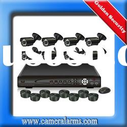 8CH 8 CHANNELS Home Video Surveillance CCTV DVR Security System + 8 color Camera