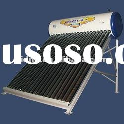 CE/vacuum tube / high quality Non-pressurized solar water heater