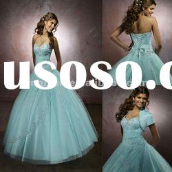 CY434 Hot sale New arrival Real picture Beaded Sleeveless Ball gown