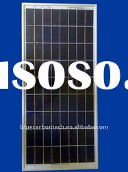 FRAMED 125W poly solar panel with high quality