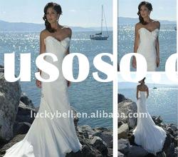 Hot sale Luxury Sweetheart Beach Wedding dress