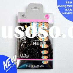 Hot sell New Design full Nail art polish Sticker