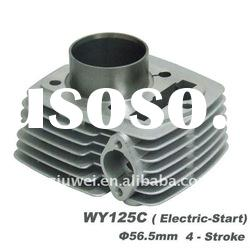 Motorcycle parts WY125C(Electric start) motorcycle cylinder block