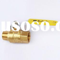 NPT Brass Ball Valve (Female Thread * Male Thread)
