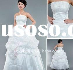 New style Hot sale Ball Gown Beaded Wedding dress