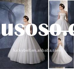 New style Hot sale Ball Gown Sleeveless Wedding dress