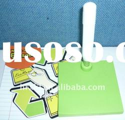 Newest Eco Silicone Writing Memo Pad with Pen