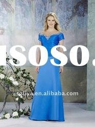 Off-the-shoulder Empire Waist Mother Of The Bride Dress