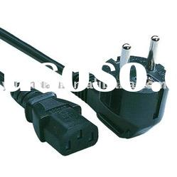 Power cord european type VDE approval cable sets schuko plug