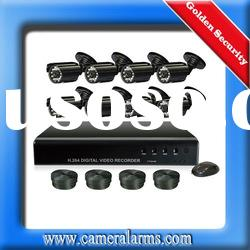 Standalone 8CH Video Surveillance CCTV DVR Video Recorder Security Camera System