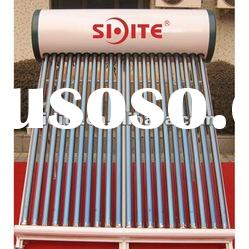 color steel,CE / high quality Non-pressurized solar water heater