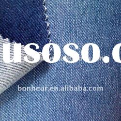 cotton polyester slub denim stretch fabric