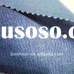 cotton polyester stretch indigo denim fabric