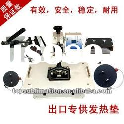 digital 6 in 1 heat press transfer printing machinw with CE cert