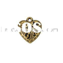 heart shape pendant ,jewelry ornament , CCB (ABS) 5283 a jewelry bead