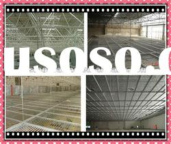 hot dip galvanized or painted metal false ceiling grid system