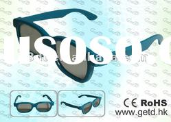 hotsale kids style fashionable circular polarzied 3d glasses