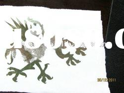 metallic foil heat transfer paper printing for textile