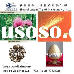 natural organic stevia leaf powder/milk thistle extract--China factory (GMP.HACCP)
