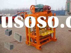 qtj4-40 chia manual concrete hollow block making machine