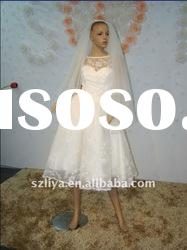 real products picture cap sleeve lace beaded bridal dress with a bow