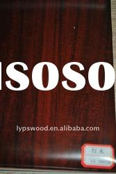red wood fancy pvc faced with high quality