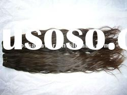 unprocessed natural wave natural color brazilian kinky curly remy hair weave