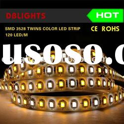 3528 smd double color (warm white,pure white) LED Strip