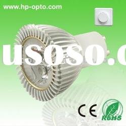 3W GU10 dimmable LED down light