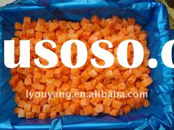 iqf carrot dices