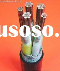 0.6/1KV 5 core pvc insulated power cable NYY
