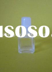 10ml small square glass nail polish bottle