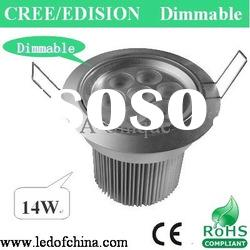 14W adjustable led downlight Cree Edison with CE Rohs