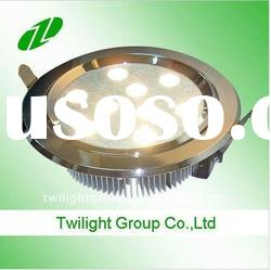 2011 High quality 9w led ceiling down light(Cree XRE led)