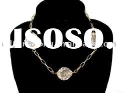 2011 fashion women jewelry of silver chains necklace