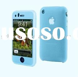 2011 good taste silicone mobile phone cases for iphone 4
