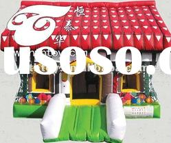 2012 Hot selling PVC inflatable bounce house