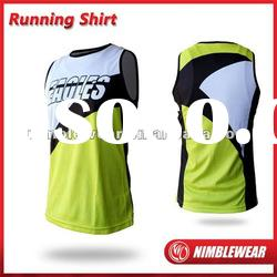 2012 NIMBLEWEAR SPORTWEAR Italy Monti full digital sublimated Quick-Dry cycling wear running singlet