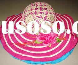 2012- ladies wide brim hat
