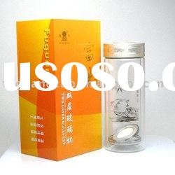 340ML FGH-2122 Double-layer nami glass cup