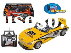 4 Channel 1/18 scale Radio Control Car Toy (with recharger)