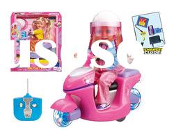 4 Function Remote Control Motorcycle Toy Car For Girl