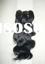 AAA quality unprocessed machine made indian hair extension