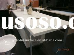 Acrylic Solid Surface dining table for Restaurant