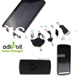 Adivolt mini emergency external backup portable power solar battery glass charger plates